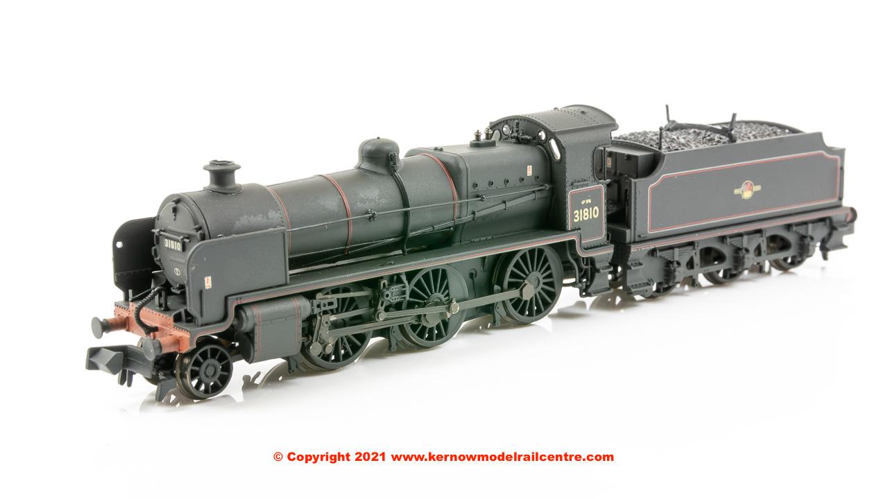 372-935 Graham Farish N Class 2-6-0 31810 BR Black Late CrestR Image